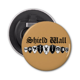 Shield Wall Bottle Opener