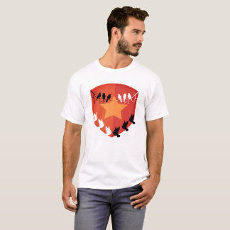 Shielded by birds T-Shirt