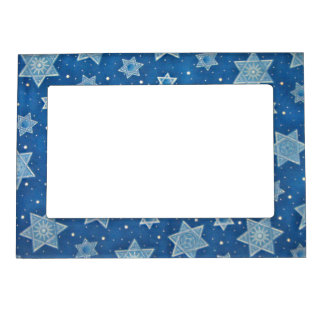 Shields of David Magnetic Picture Frame