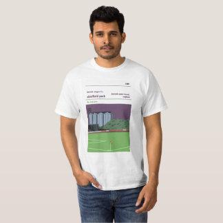 Shielfield Park, Berwick upon Tweed t-shirt