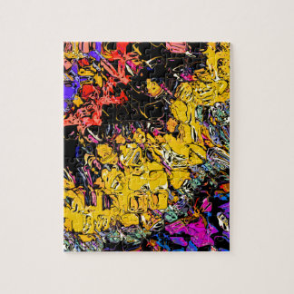 Shifting Shapes And Colors Jigsaw Puzzle