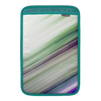Shifty Green  Blured Stripes Design Sleeve For MacBook Air