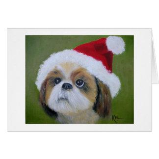 Shih Tsu Christmas cards