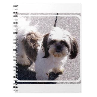 Shih Tsu Puppy Notebook