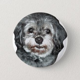 Shih-Tzu 6 Cm Round Badge
