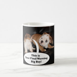 Shih Tzu and English Bulldog Puppys Coffee Mug