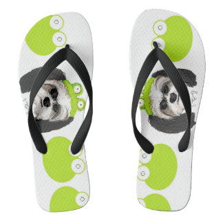 Shih Tzu and Frogs Thongs