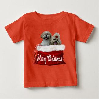 Shih tzu Baby Shirt Christmas