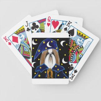 SHIH TZU BICYCLE PLAYING CARDS