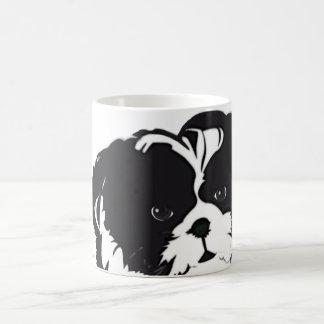 Shih Tzu Black White Dog Pet Mugs