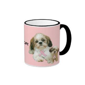 Shih Tzu Breast Cancer Mug