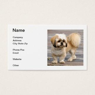 Shih Tzu Business Card