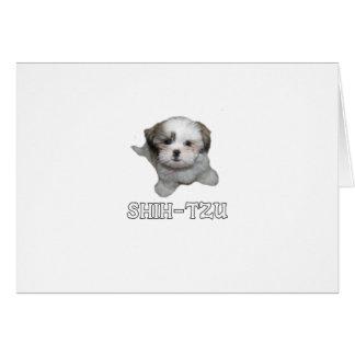 Shih-Tzu Card