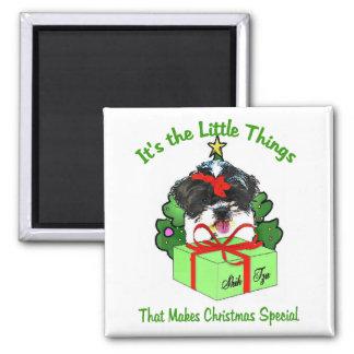 Shih Tzu Christmas Gifts Magnet