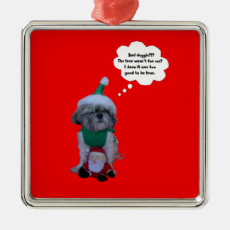 Shih Tzu Christmas Holilday Premium Ornament