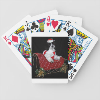 Shih-Tzu Christmas Playing Cards
