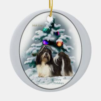 Shih Tzu Christmas Tree Ornaments