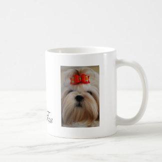 Shih Tzu Cup/Mug Basic White Mug