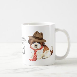 Shih Tzu Dad Basic White Mug
