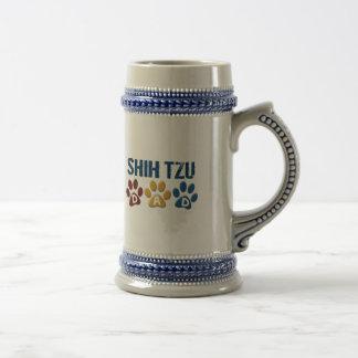 SHIH TZU Dad Paw Print 1 Mug