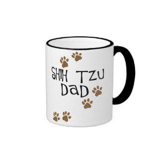 Shih Tzu Dad Ringer Mug