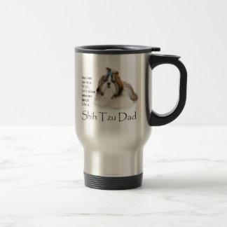 Shih Tzu Dad Travel Mug
