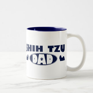 Shih Tzu Dad Two-Tone Coffee Mug