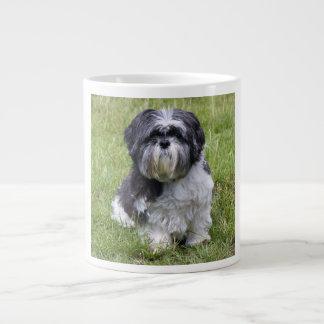 Shih Tzu dog beautiful cute photo jumbo mug