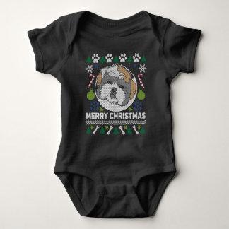 Shih Tzu Dog Breed Ugly Christmas Sweater