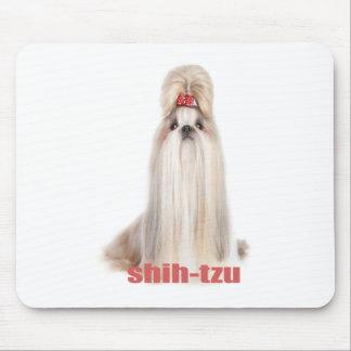 shih-tzu dog breeds シーズー - シーズー犬の品種 mouse pad