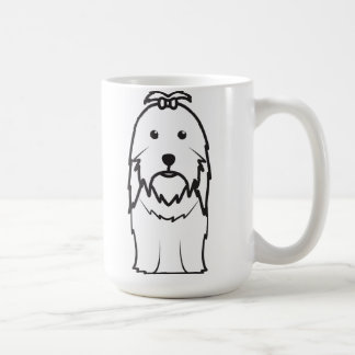 Shih Tzu Dog Cartoon Coffee Mug
