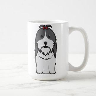 Shih Tzu Dog Cartoon Mug