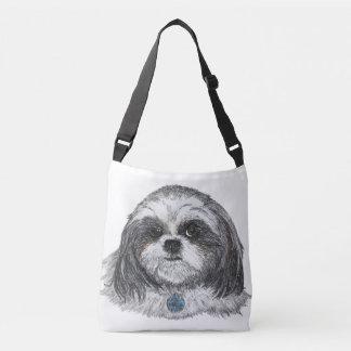 Shih Tzu Dog Crossbody Bag