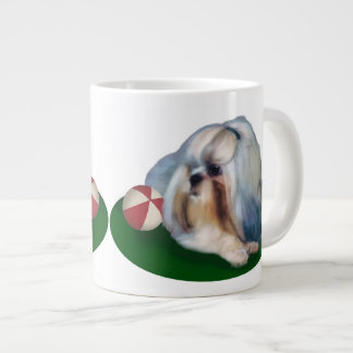 Shih Tzu Dog Customizable Large Coffee Mug