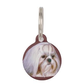 Shih Tzu Dog Customizable Pet Name Tag