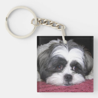 Shih Tzu Dog Key Ring
