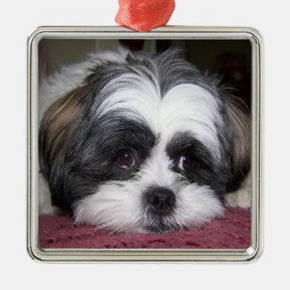 Shih Tzu Dog Metal Ornament