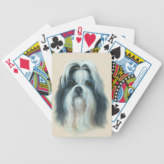 Shih Tzu Dog Playing Cards