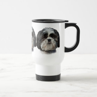 Shih Tzu Dog Stainless Steel Travel Mug