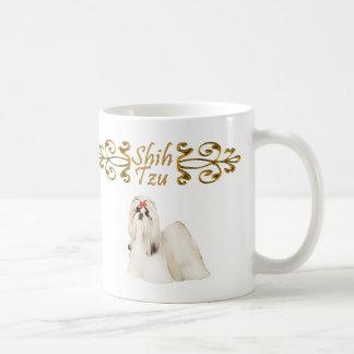 Shih Tzu Elegance Basic White Mug