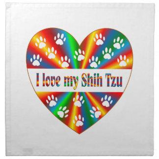 Shih Tzu Love Napkin