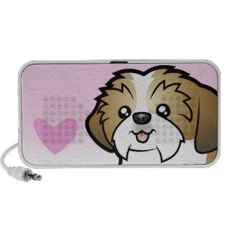 Shih Tzu Love (puppy cut) Speaker System