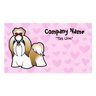 Shih Tzu Love (show cut) Pack Of Standard Business Cards
