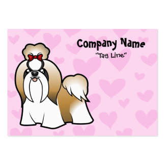 Shih Tzu Love (show cut) Pack Of Chubby Business Cards