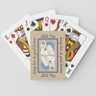 Shih Tzu Lucky Poker Deck