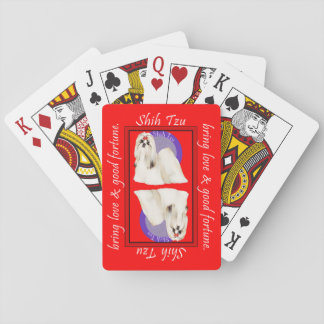 Shih Tzu Lucky Red Cards