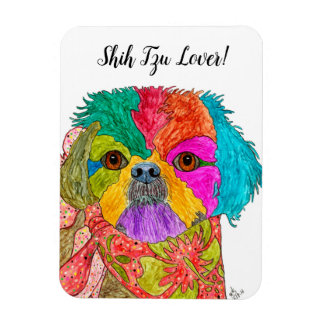 "Shih Tzu Magnet 3""x4"" (You can Customize)"