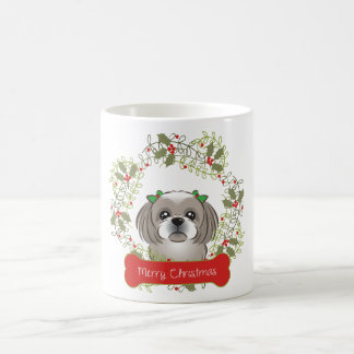Shih Tzu Merry Christmas Coffee Mug