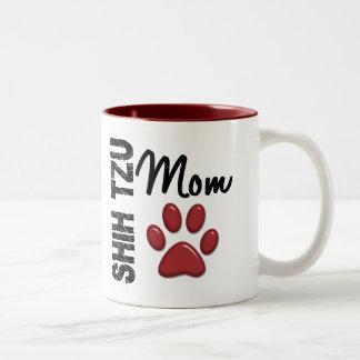 Shih Tzu Mom 2 Two-Tone Mug
