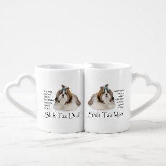 Shih Tzu Mom and Dad Mug Set
